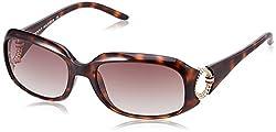 Tommy Hilfiger Gradient Square Womens Sunglasses - (7898 Hav Br-34 C2 S|55|Brown Color)