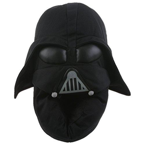 s Darth Vader Hausschuhe Pantoffel Schlappen Kuscheltier Plüsch Herren Schwarz 29-47, TH-DarthVader, Größe 29/31 ()