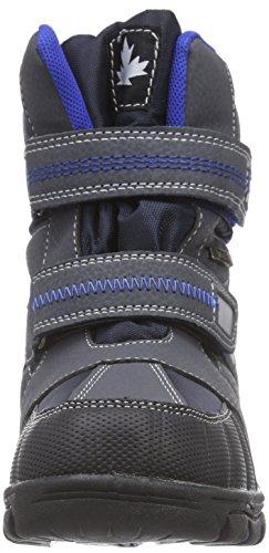 Canadians 467 182, Bottes de neige de hauteur moyenne, doublure chaude garçon Bleu - Blau (Navy/Royal Blue 838)