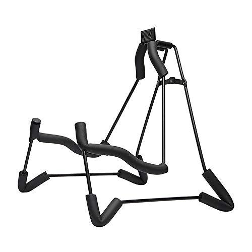 PQZATX Aluminium Legierung Faltbare Gitarre Stand Pr?gnant Style Weichen Schwamm Stahl Rahmen Halter Für Akustische Klassische Gitarre
