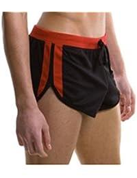 Demarkt® Maillot de bain/ Boxer Trunks Shorts/ Pantalon Court de Sport/ Short de bain pour Hommes - Noir - Taille S/M/L