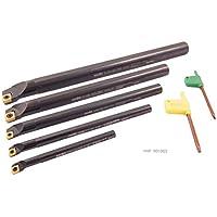 hhip 1001–00235-teilig SCLCR indexable langweilig Bar Set, 5/16–3/8–1/2–5/8& 3/10,2cm