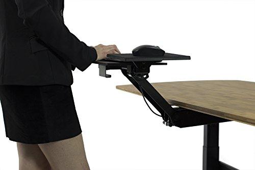 Cheap Uncaged Ergonomics KT2 Standing Desk Keyboard Tray with Negative Tilt – Black Discount