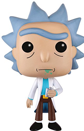 Figura de vinilo Pop! Games Rick and Morty 112 - Rick (0cm x 9cm)
