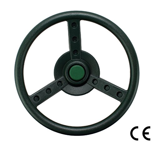 HIKS Products HIKS Green Kids Childrens Steering wheel for Climbing Frame, Tree House amp; Play House
