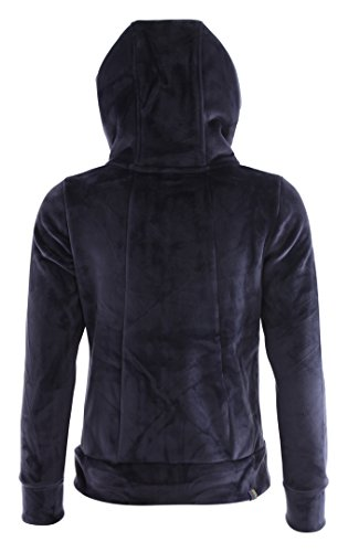 Bench Damen Strickjacke Core Fleece Zip Through Hoody Navy