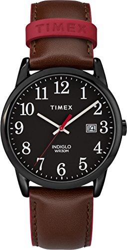 Timex Mixte Adulte Analogique Automatique Montre avec Bracelet en Cuir TW2R62300