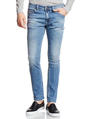 Diesel Herren Skinny Jeans Thavar, Blau (Light Blue 0842H), W32/L30