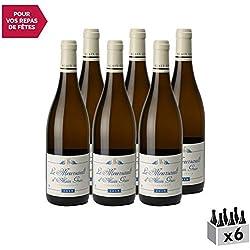Meursault Les Tillets Blanc 2018 - Domaine Alain Gras - Vin AOC Blanc de Bourgogne - Cépage Chardonnay - Lot de 6x75cl