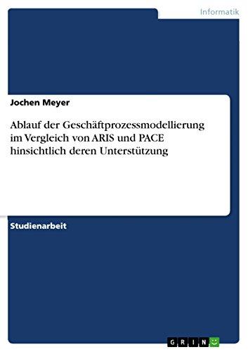 Ablauf der Geschäftprozessmodellierung im Vergleich von ARIS und PACE hinsichtlich deren Unterstützung