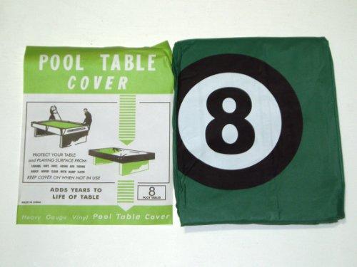 Billardtisch-Abdeckung für 8ft Tisch mit 8Ball Design