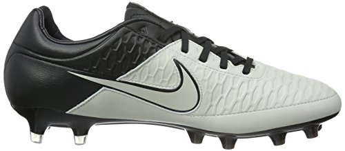 Nike Magista Orden Firm Ground, Chaussures de Football Amricain Homme Blanc (Noir/Blanc)