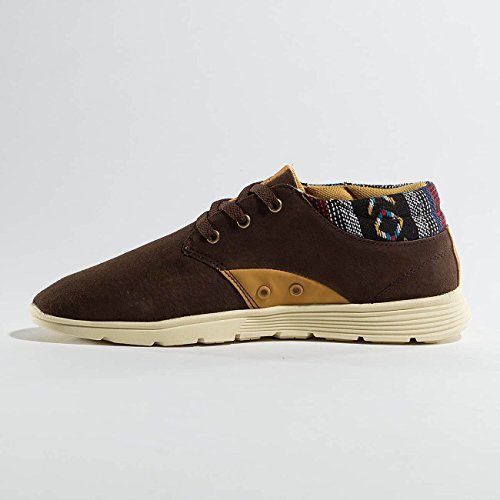 Djinns Homme Chaussures/Baskets Mid Lau Brun