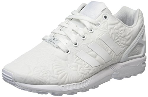 adidas ZX Flux, Sneakers Basses Mixte Adulte Blanc (Ftwr White/Ftwr White/Core Black)
