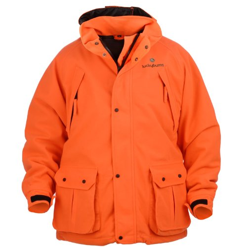 Lucky Bums Kid 's-in Wasserdicht Parka XS Orange (Jagd-jacken Wasservögel)