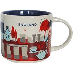 Starbucks You está aquí taza de Inglaterra