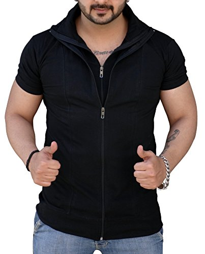 Black Collection Men's Cotton T-Shirt (Bcsa0002)
