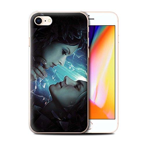 Offiziell Elena Dudina Hülle / Case für Apple iPhone 8 / Pack 7pcs Muster / Liebe Kunst Kollektion Glasscherben