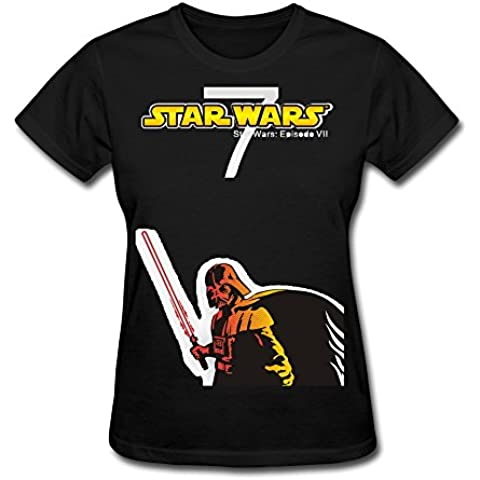 Women's Star Wars: The Force Awakens Darth Vader Logo T-shirtYILIAX11177XXXX-L