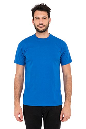 Fruit of the Loom Herren T-Shirt Valueweight T Blau (Blue 51)