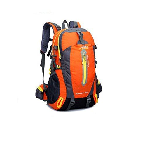 Wmshpeds Sacchetto di alpinismo professionale di 40L multifunzionale sacchetto di spalla degli uomini e della borsa dello spalla dello sport F