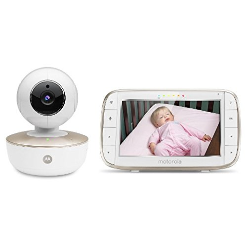 Motorola MBP855 5-Zoll-Farbbildschirm mit Video Baby Monitor