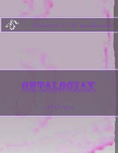 ontalogiax: ontalogia: Volume 1