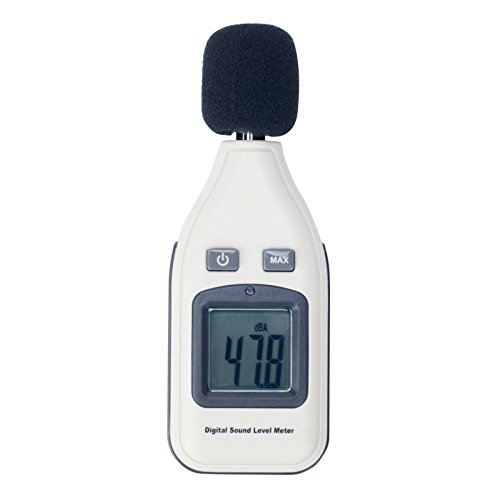 Himanjie®Digital Schallpegel Lärm Messgerät Schallpegelmesser GM1351
