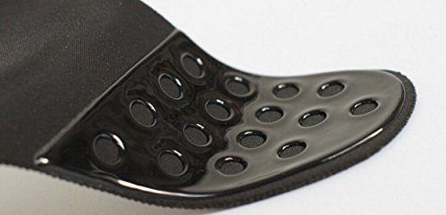 GAZHFERF Frauen-Bügel-Transparent Trägerloser Büstenhalter Leicht Gepolsterter BH Black