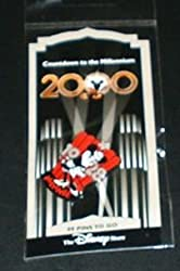 Disney Minnie Mouse Countdown To The Millennium #100 Disney Store Pin