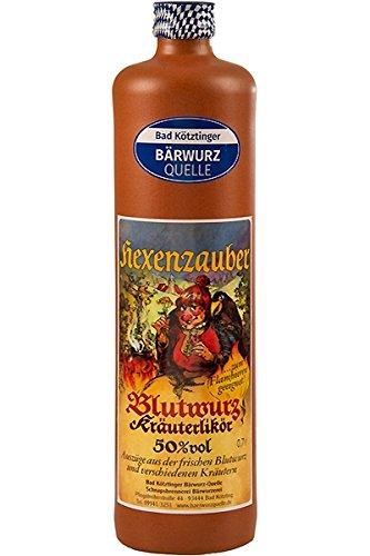Bad Kötztinger Hexenzauber Blutwurz Kräuterlikör 50% vol 0,7 L