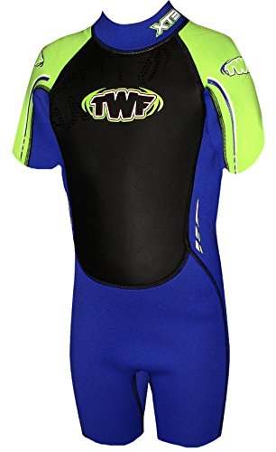 twf-kids-xt3-k13-shortie-wetsuit-pacific-green-12-13-years