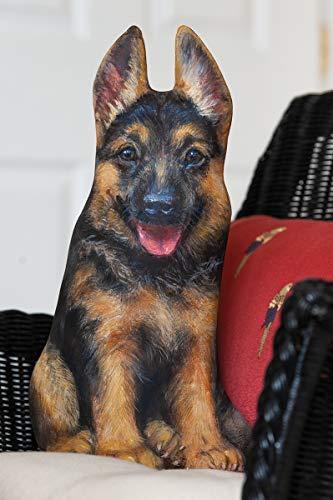 Pellet Ellenbogen (Türstopper Deutscher Schäferhund Dekoartikel für Ihr Zuhause, Türstopper, tolles Geschenk für Schäferhund-Liebhaber)
