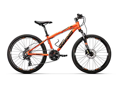 "Conor WRC Pro Disc 24\"" Bicicleta Ciclismo Unisex Adulto, Naranja, Talla Única"