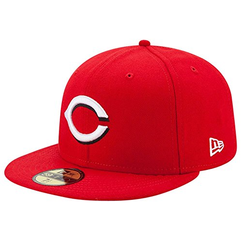 New Era 59Fifty Cap - Authentic Cincinnati Reds Rouge