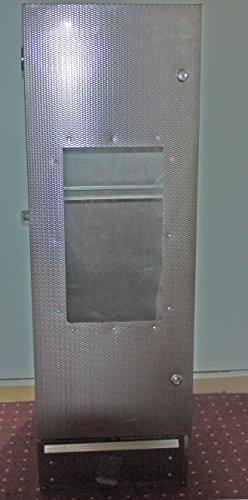 Der neue Maßstab: Original Smoki Räucherofen aus geprägtem Stahl mit Sichtfenster: 120cm hoch.