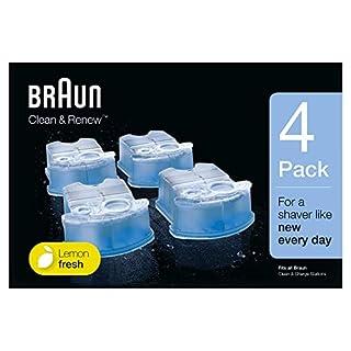 Braun CCR4 Clean & Renew Cartouches De Recharge, Pack de 4Recharges (B007SNGSFS) | Amazon price tracker / tracking, Amazon price history charts, Amazon price watches, Amazon price drop alerts