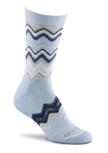 Fox River Damen Zig Zag Crew Socken, damen, Chambray (Fox River Damen-socken)