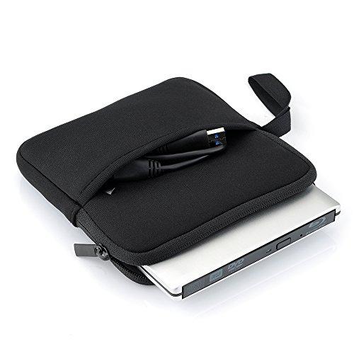 VicTsing Universal Neopren Schutzhülle Hülle Hartschalentasche Tasche Case Bag Tragbar für Externe Laufwerke, CD DVD Brenner, Blu-Ray Drives, Apple MD564ZM / Apple Magic Trackpad / SE-208 GB / ASUS usw.