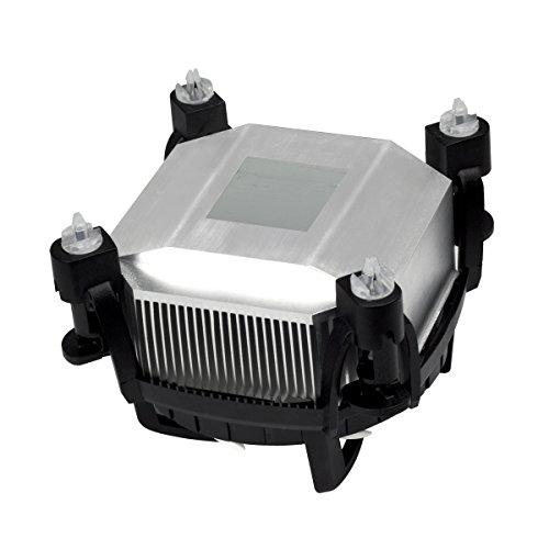 ARCTIC Alpine 11 GT Rev.2 - Superleiser Intel CPU Kühler für Mini PCs - durch 80 mm PWM Lüfter bis zu 75 Watt Kühlleistung - Mit voraufgetragener MX-2 Wärmeleitpaste - Einfachen Montagesystems