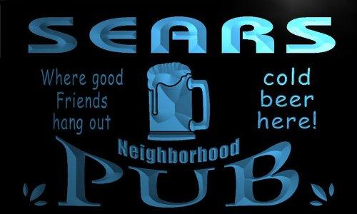 enseigne-lumineuse-pg1844-b-sears-neighborhood-home-bar-pub-beer-neon-light-sign