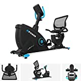 We R Sports Cardio Exercise Bike Recline Machine Magnetic Cycle Fitness E-Power Bike