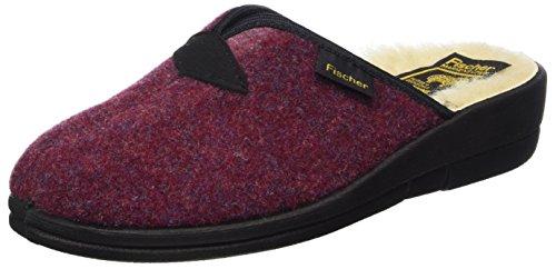 Fischer Dora, Slippers Women Rot (burgund)