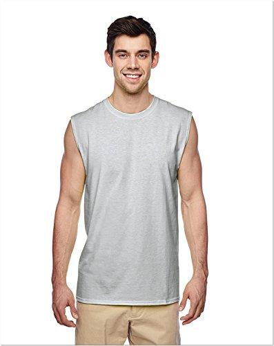 Ärmelloses Shooter T-Shirt Erwachsenen. 29SR, Herren, asche