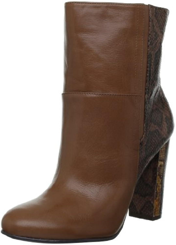Nine West Nwjusthang-Leather, Bottines femme - EU Marron Dknat/Dkbrn), 39 EU - (8.5 US)B009339WTKParent 6ef3dd