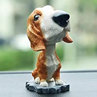 zyfun Car Dashboard Car Pendant Innovative And Realistic Resin Famous Dog Decoration Shake Head Dog Ornament Home Ornaments
