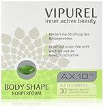 Hautpflege Kapseln mit einzigartigem Astaxanthin Wirkkomplex von VIPUREL Body Shape I Für straffe Haut, unterstützt Fettstoffwechsel und Gewichtsverlust I 100% Geld-Zurück-Garantie!