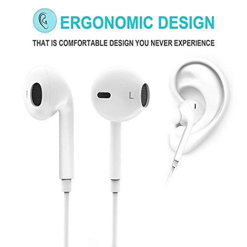 Auriculares Bluetooth,  Auriculares con Sonido estéreo,  Auriculares intraurales con micrófono,  Auriculares Deportivos para Gimnasio y Correr