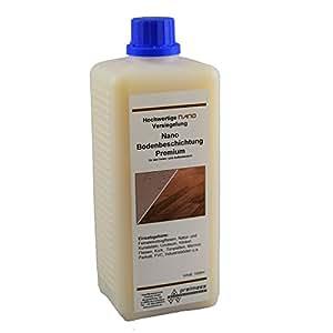 1 Liter Nano Bodenbeschichtung Premium (Matt) - Laminatversiegelung - Fliesenversiegelung - Holzbeschichtung - Laminatbeschichtung