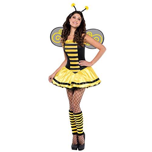 Christy 's Erwachsenen Kostüm Bumble Beauty (Größe 8-10)